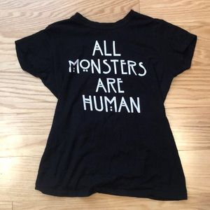 ALL MONSTERS ARE HUMAN Graphic T-Shirt